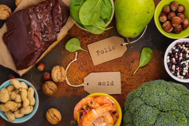 Thực phẩm chứa folic và acid tốt cho bà bầu