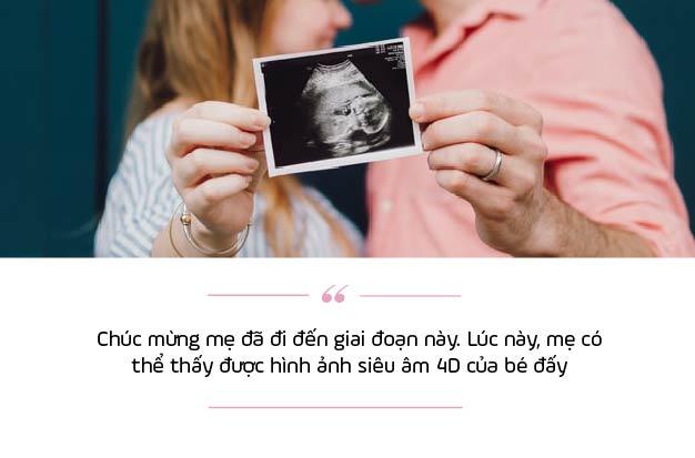 Lần khám thai thứ 6: Tuần thai thứ 21 – 24