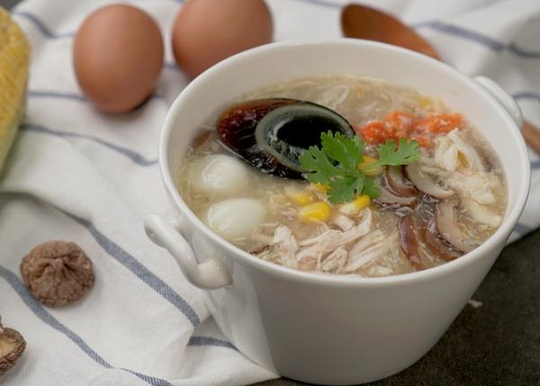 nấu súp trứng gà cho bé | Món Miền Trung