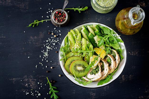 Salad bơ hoa quả/ trái cây
