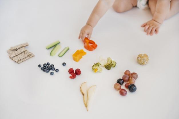 Những thực phẩm kết hợp cho bé ăn dặm BLW
