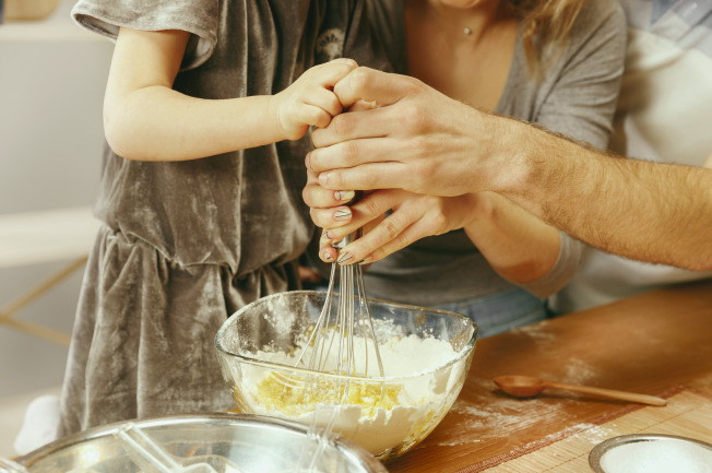 Cách nấu bột ăn dặm cho con rất dễ làm nha mẹ