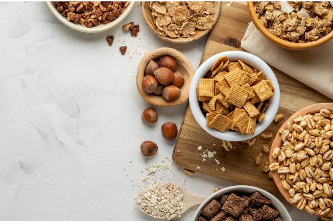 Ngũ cốc chứa nhiều vitamin, chất xơ và khoáng chất