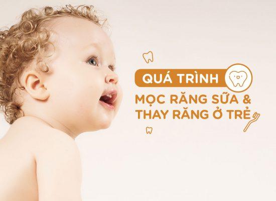trẻ mấy tháng thì mọc răng