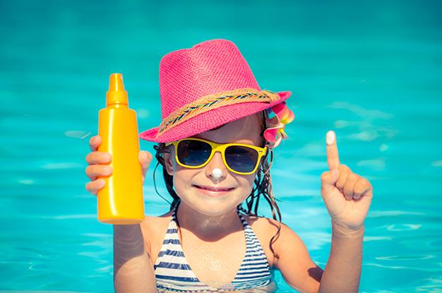 Kem chống nắng cho trẻ