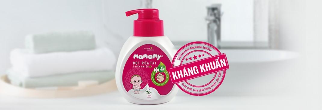 Bọt rửa tay thiên nhiên Mamamy