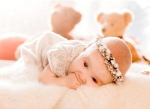 Bong da đầu ở trẻ sơ sinh- Nguyên nhân và cách điều trị