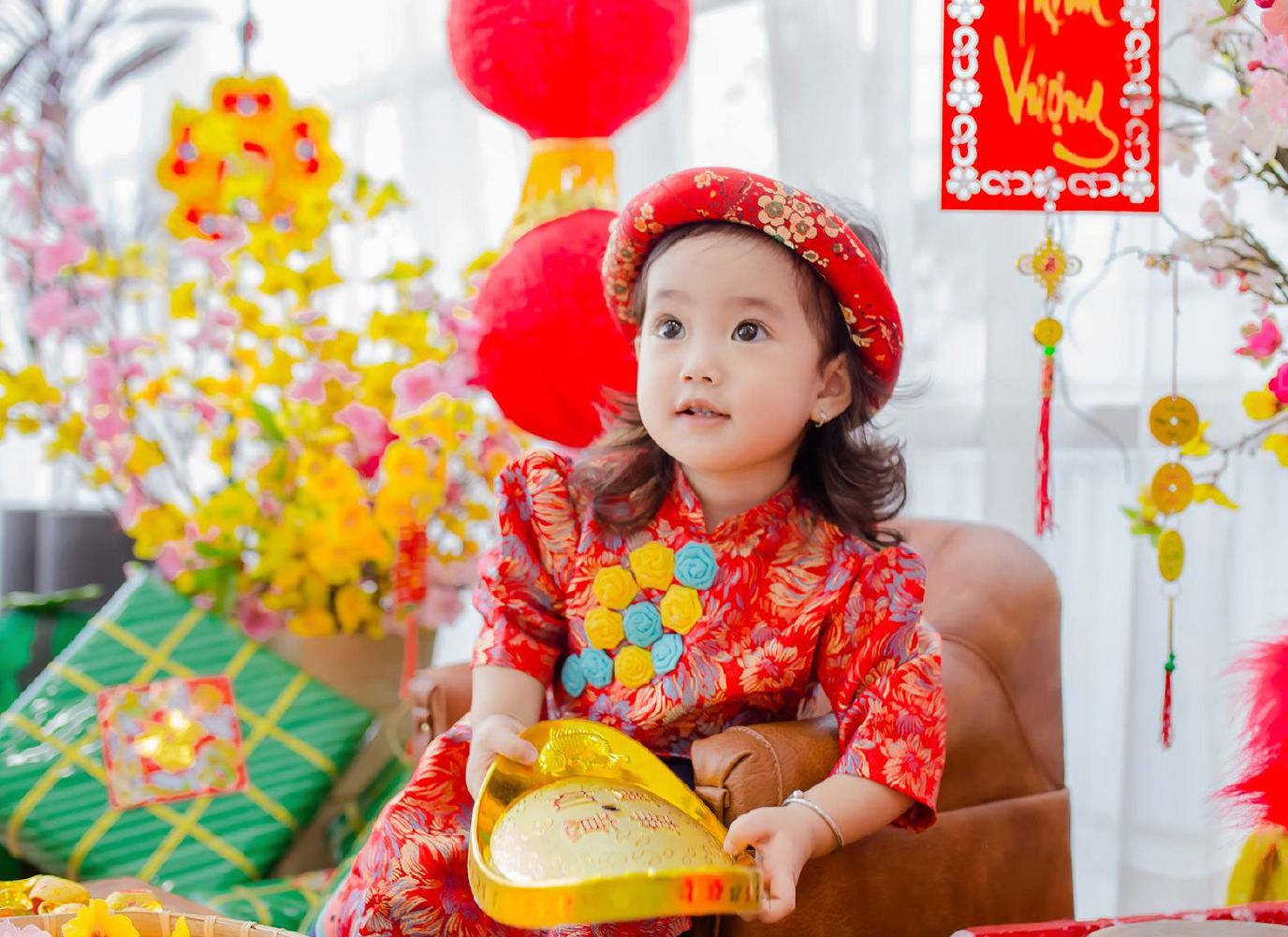 Các món quà tặng bé ngày Tết vô cùng ý nghĩa và hấp dẫn.