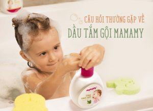 Câu hỏi thường gặp về Dầu tắm gội Mamamy