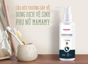 Câu hỏi thường gặp về dung dịch vệ sinh phụ nữ Mamamy Intimate Feminine Wash