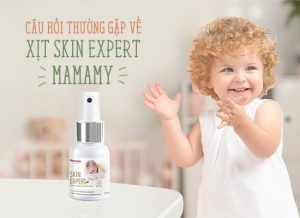 Câu hỏi thường gặp về xịt Skin Expert Mamamy
