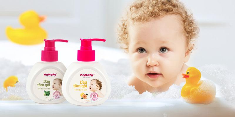 Dầu tắm gội trẻ em