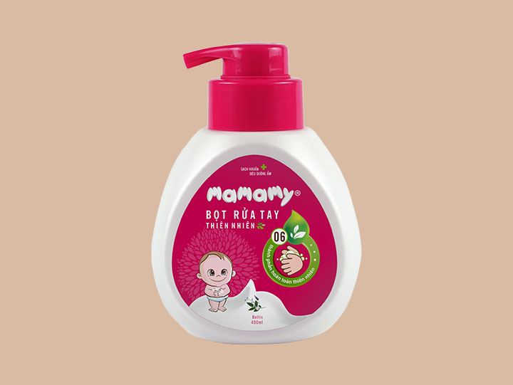 Bọt rửa tay thiên nhiên