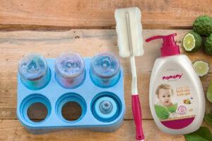 Cách sử dụng nước rửa bình sữa AN TOÀN chỉ với 4 bước