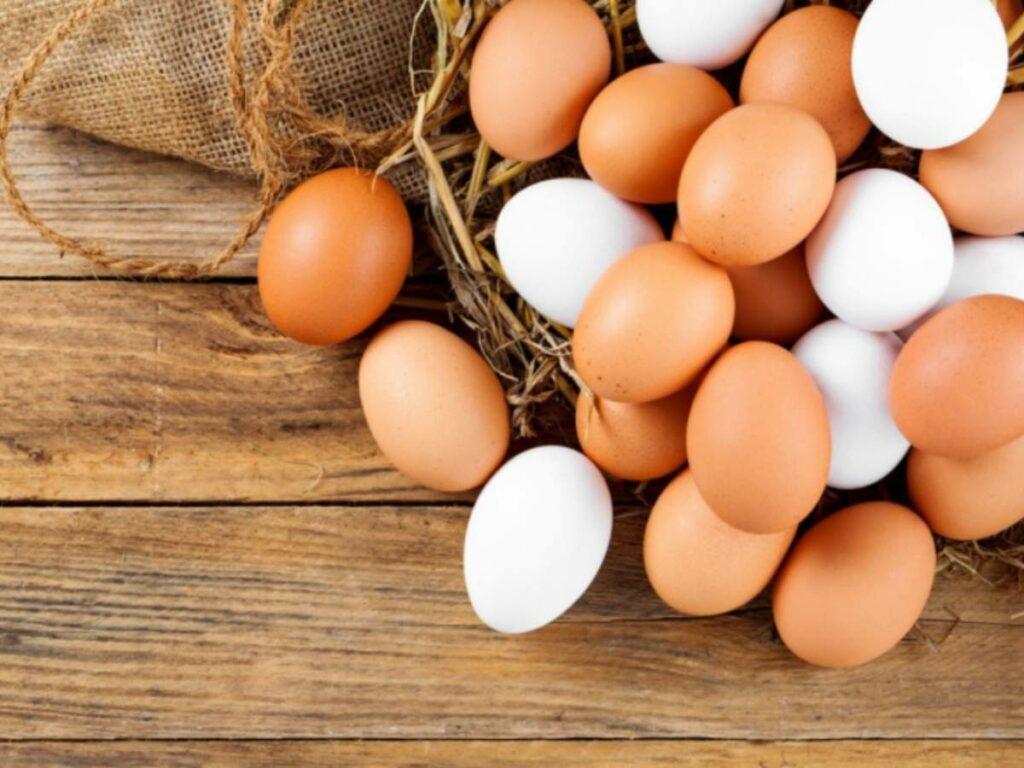 Nguyên liệu cách chiên trứng nước mắm