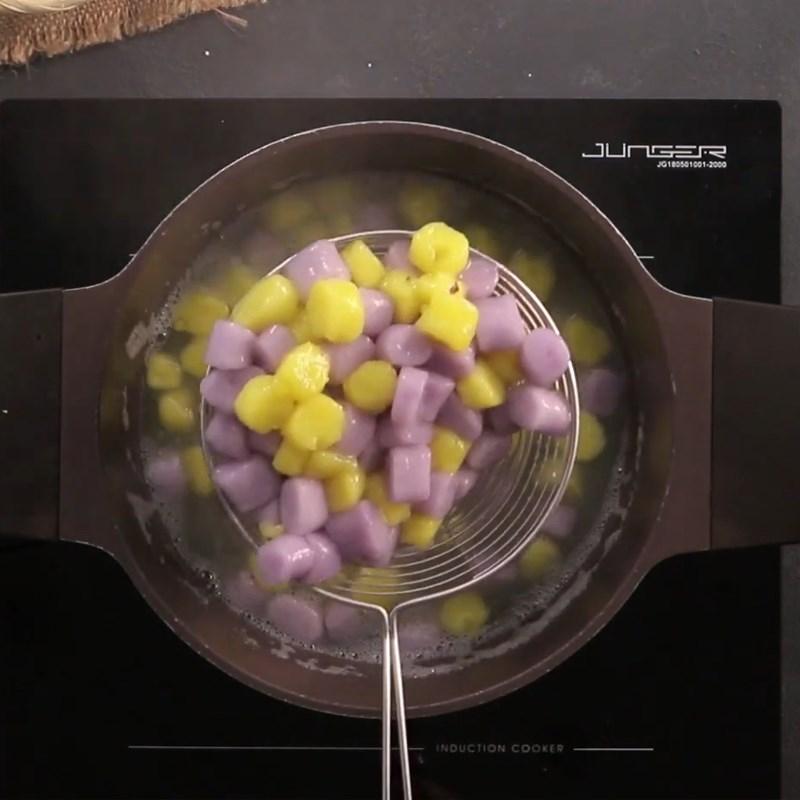 3 bước đơn giản để nấu chè khoai dẻo