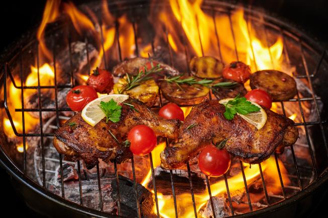 Cách nướng gà muối ớt