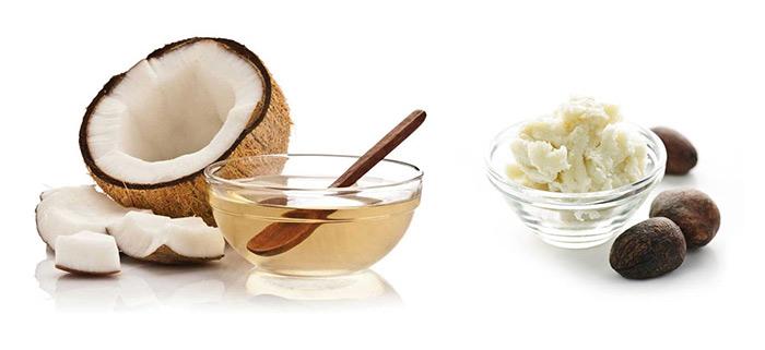 Dầu dừa và bơ hạt mỡ có hiệu quả chống viêm, dưỡng ẩm cho da cao