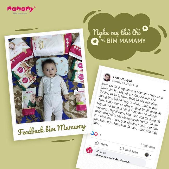 Tã dán ULTRAFLOW MAMAMY xuất xứ từ Hàn Quốc, đang được rất nhiều mẹ phản hồi tốt khi sử dụng cho bé sơ sinh
