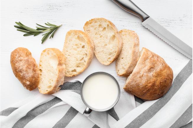 Thực đơn BLW 5: Bánh mì nướng chấm sốt bơ