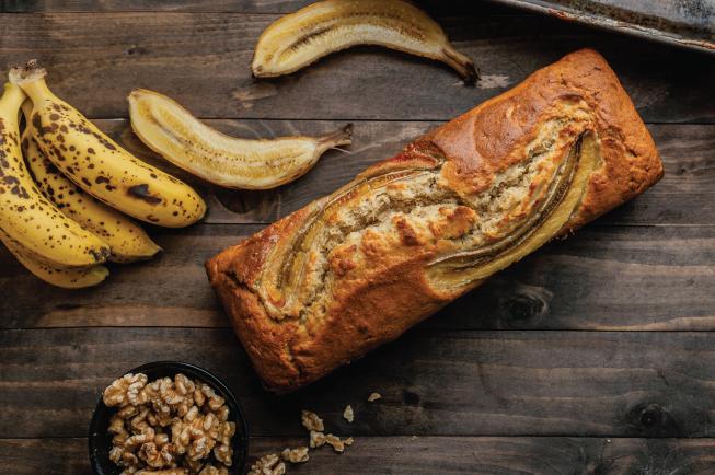 Thực đơn BLW 8: Bánh mì chuối