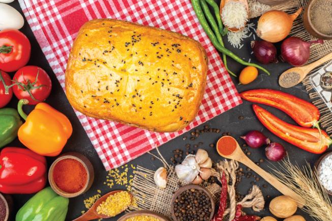 Thực đơn BLW 11: Bánh bí đỏ nhân phô mai