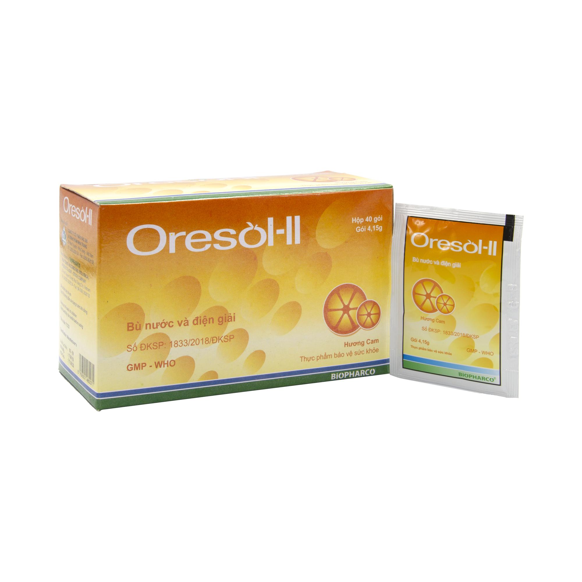Oresol không phải là thuốc chữa, chỉ là một cách để bù nước cho bé