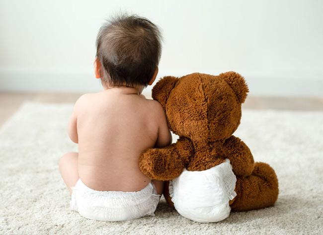 Tã thông thoáng, thấm hút tốt giúp bé ngừa hăm và mẩn đỏ tối đa