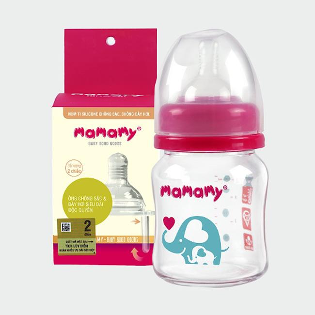 Lựa chọn bình sữa phù hợp sẽ giúp bé bú thoải mái hơn