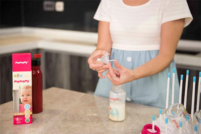 Mẹ cần pha sữa đúng cách để bé hấp thu các dưỡng chất tối đa