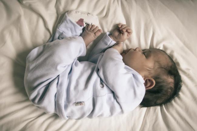 Ngay lần đầu tiên áp dụng, bé đã ngủ rất ngoan
