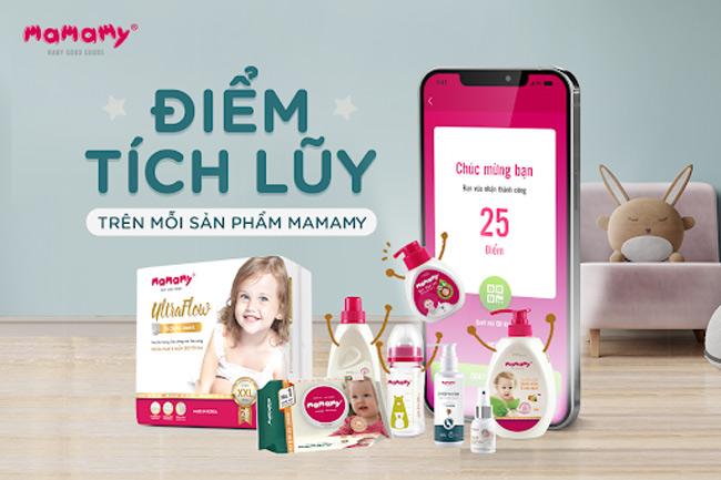 Nhiều phần quà hấp dẫn khi mua hàng trên website, fanpage Mamamy