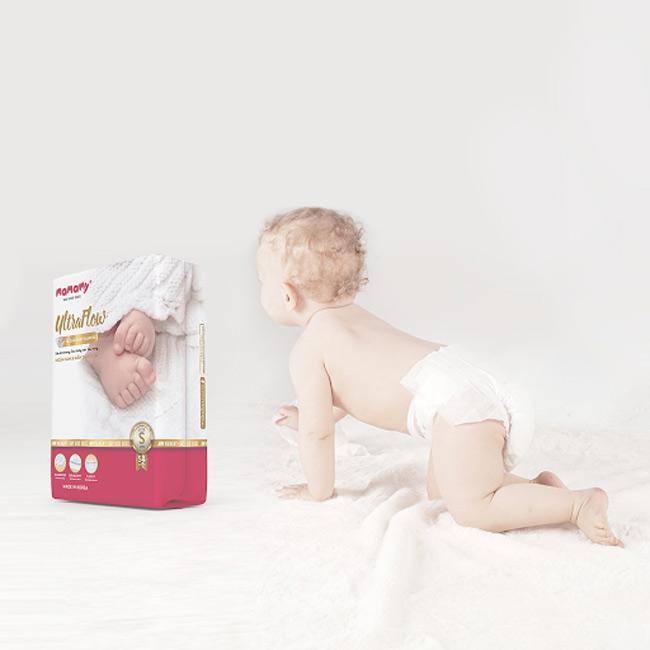 Tã dán Mamamy ultraflow được các mẹ ưu ái sử dụng vào mùa hè cho bé
