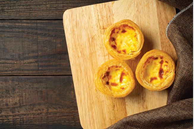 Bánh trứng nướng không chỉ thơm ngon mà còn có giá trị dinh dưỡng cao