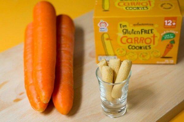 Bánh ngón tay Gluten free các vị thích hợp cho bé ăn dặm từ 12 tháng tuổi