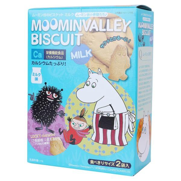 Bánh quy sữa Moomin 10+ là một món ăn được yêu thích của cả người lớn và các bé