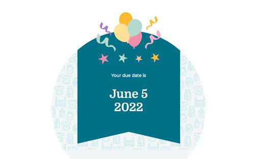 Công cụ tính ngày dự sinh Online BabyCenter