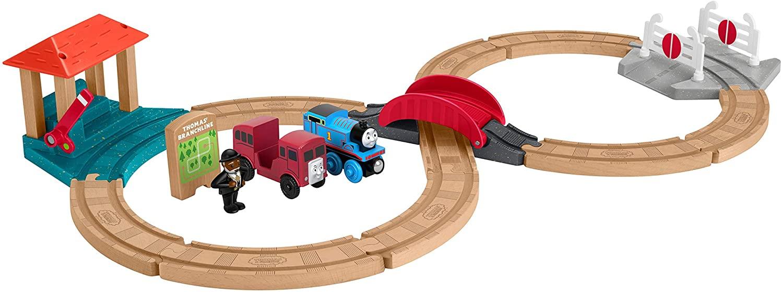Bộ đường sắt bằng gỗ Thomas & Friends cho bé 3 tuổi
