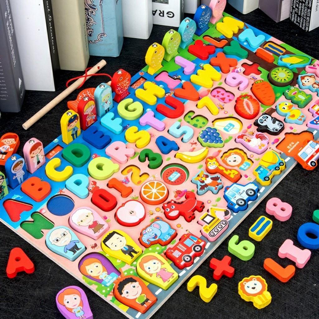 Bộ đồ chơi toán học thông minh cho bé 3 tuổi