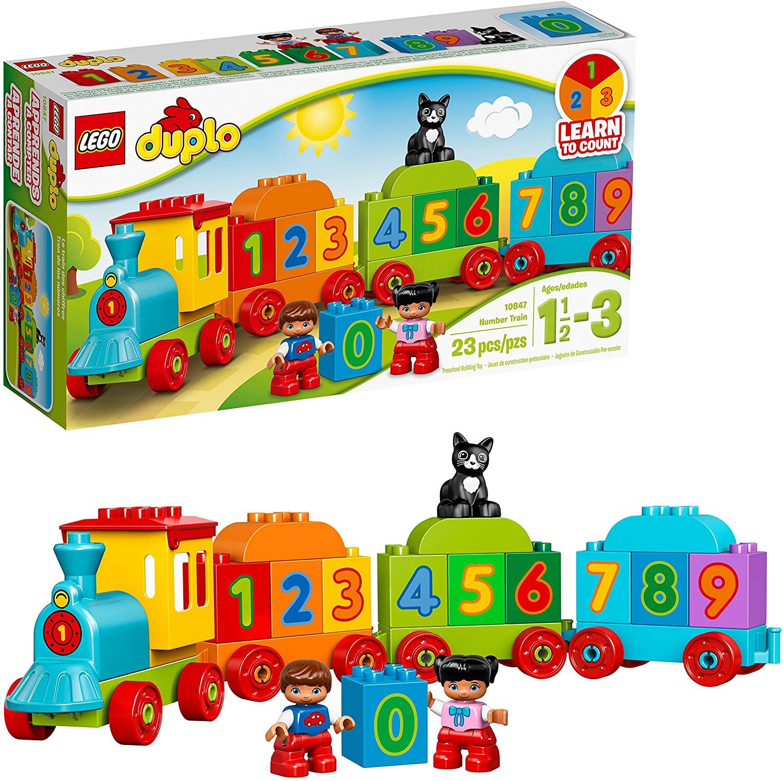 Lego Duplo: Chuyến tàu số đầu tiên 10847 - Đồ chơi lego cho bé 2 tuổi