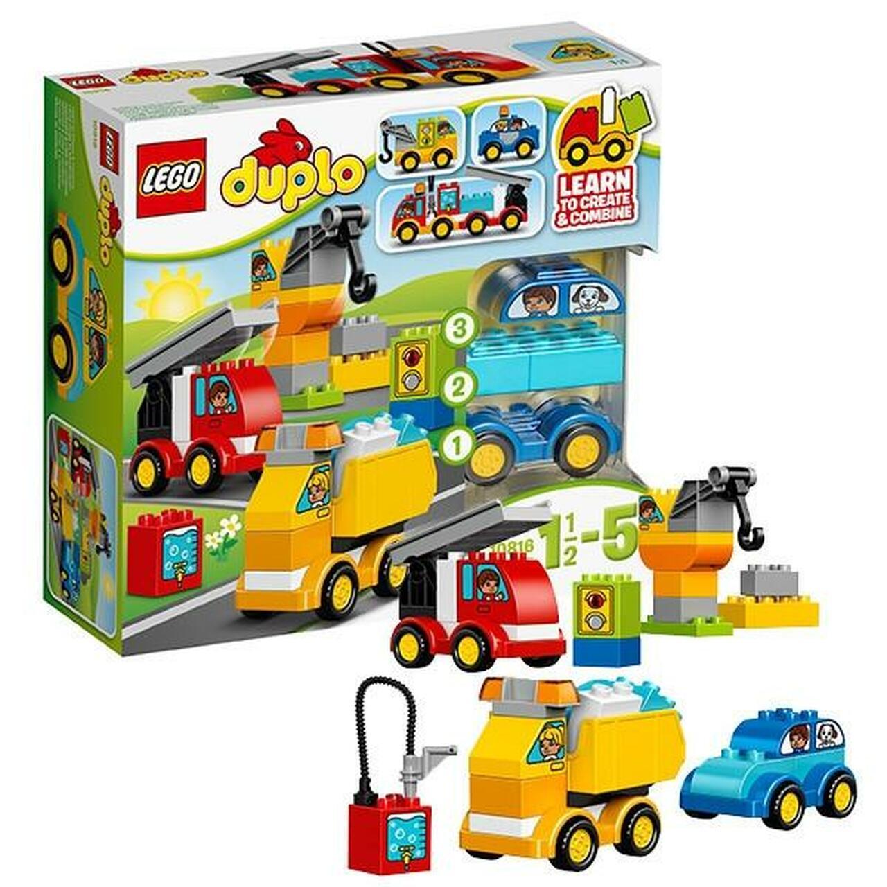 Lego Duplo: Những chiếc ô tô đầu tiên 10816