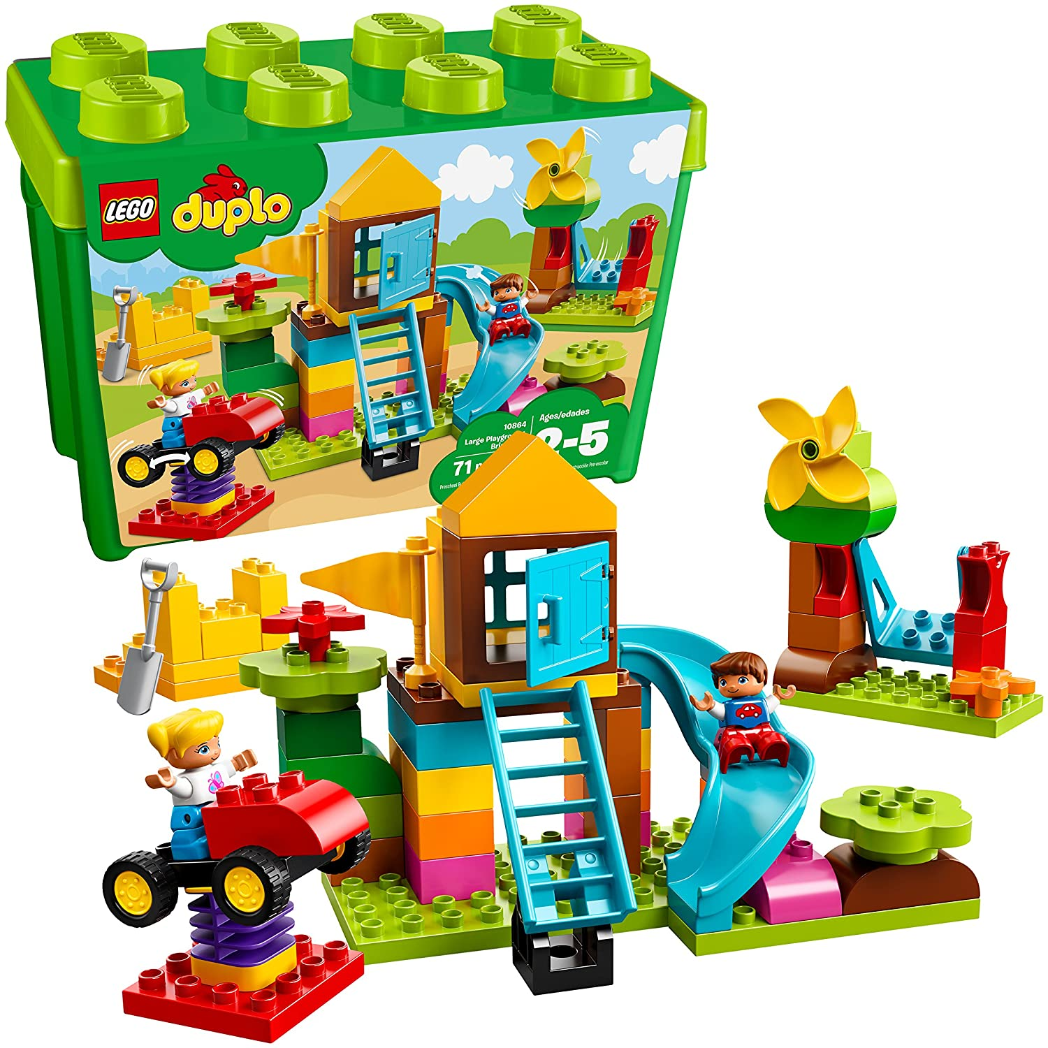 Lego Duplo: Hộp gạch xây dựng 10864