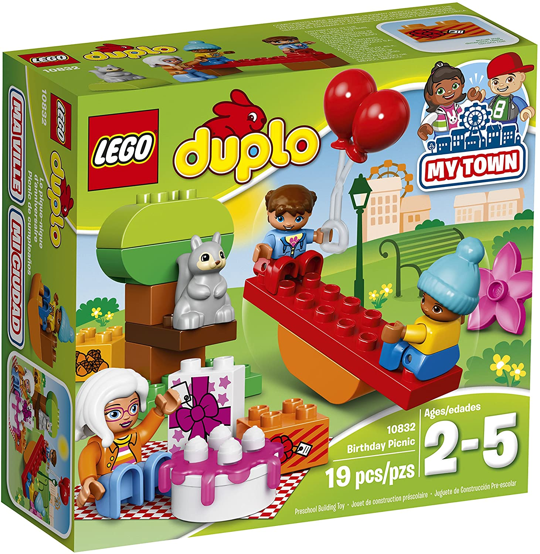 Lego Duplo: Bộ đồ dã ngoại sinh nhật 10832 - Đồ chơi lego cho bé 2 tuổi