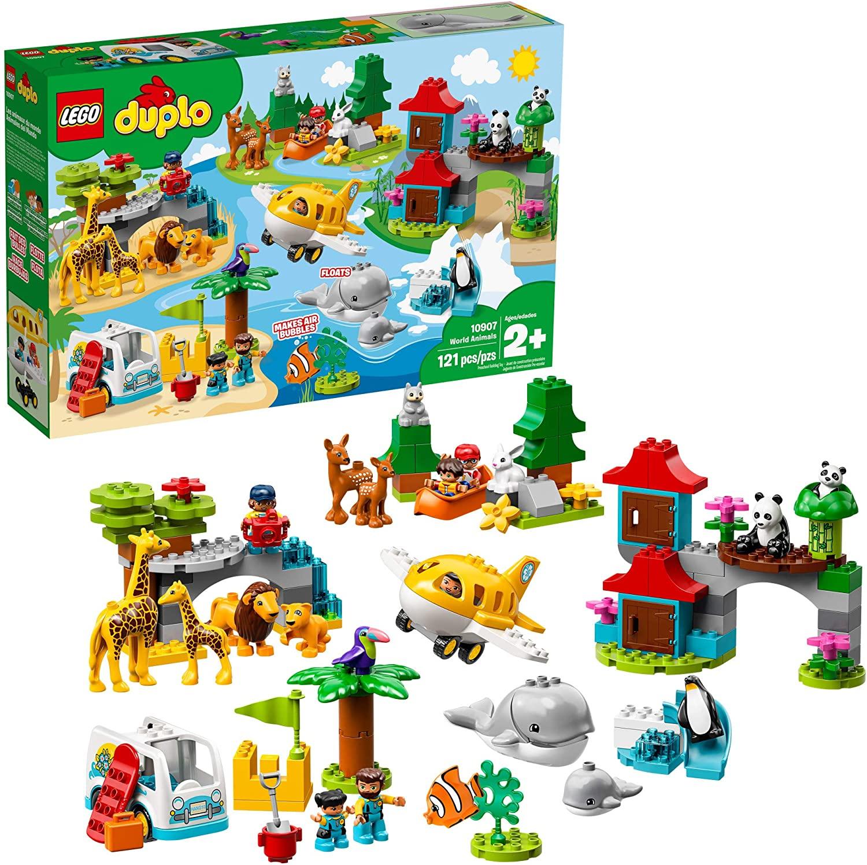Lego Duplo: Thế giới động vật 10907 - Đồ chơi lego cho bé 2 tuổi