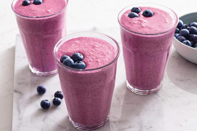 Sinh tố việt quất là bữa sáng lạ miệng nhưng vẫn đầy đủ dinh dưỡng