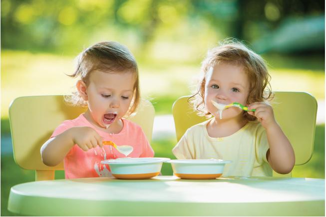 Bữa sáng cho bé cần được chuẩn bị với đầy đủ các khoáng chất thiết yếu