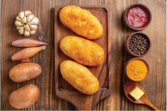 Khoai langlà một trong những thực phẩm đầu tiên phổ biến đối với trẻ sơ sinh