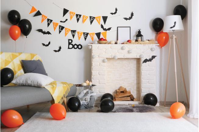 Góc Halloween cho bé