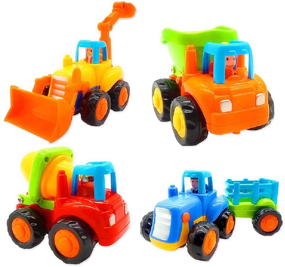 Bộ xe đồ chơi ma sát của Wideland cho bé 2 tuổi