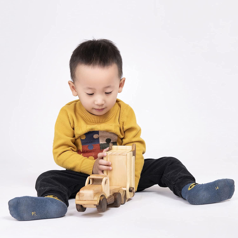 Xe đồ chơi bằng gỗ Vinny cho bé 2 tuổi